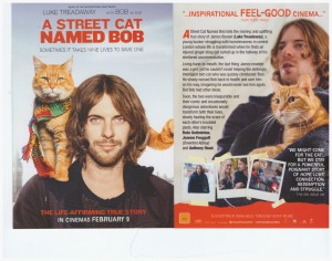 Movie Flyer A Street Cat Named Bob